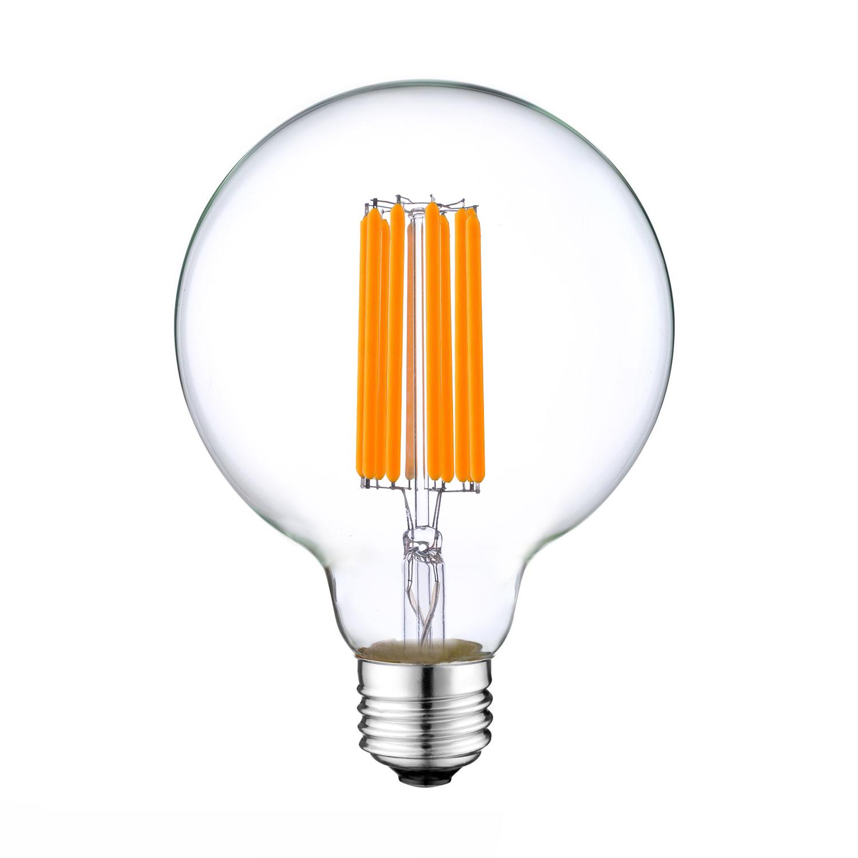 G95 6W E27 Long Filament LED bulb