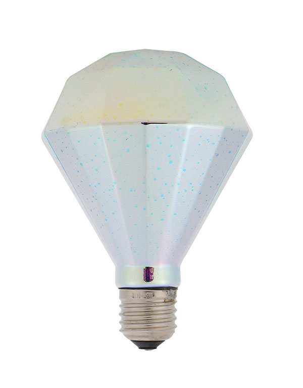 D95 Diamond LED decorative 3D light bulb