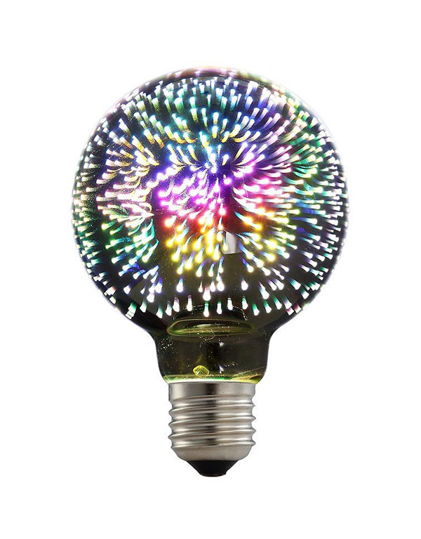 G80 3D LED hipster fun light bulbs
