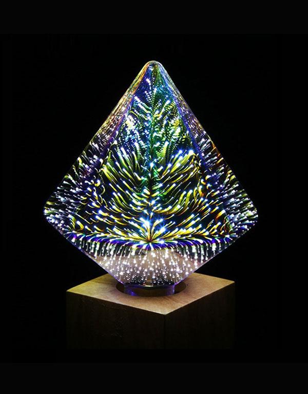 D110 Diamond 3D LED shop light bulbs