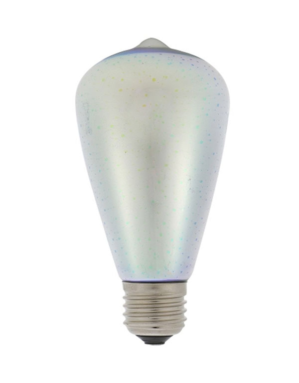 ST64 Colorful LED 3D decorative light bulb