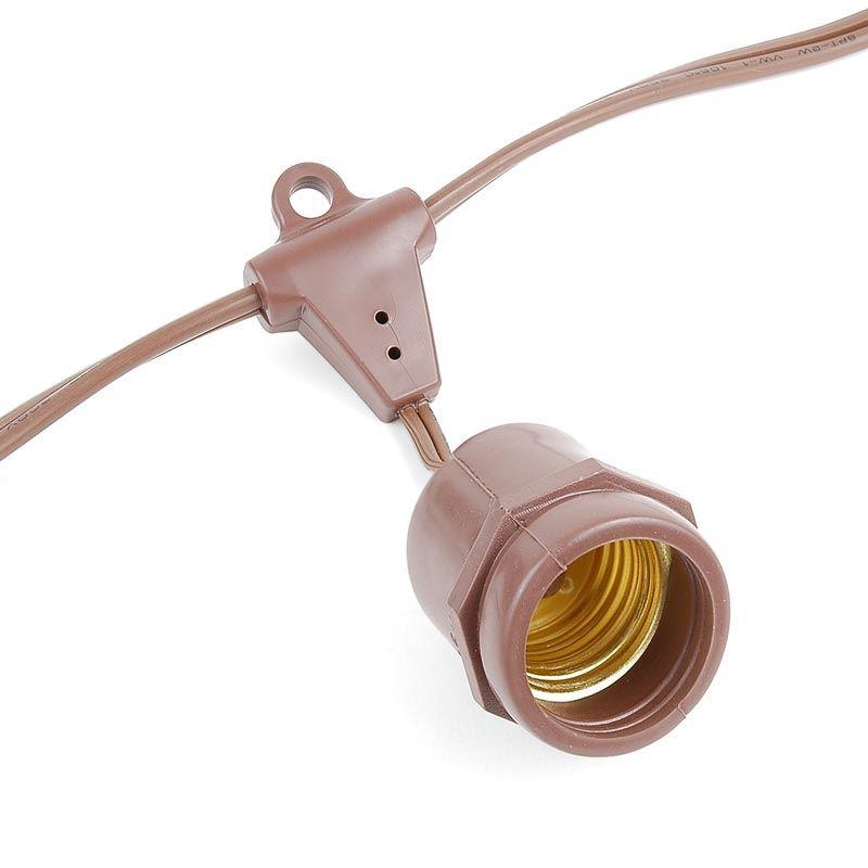 E26 suspended Commercial grade light string