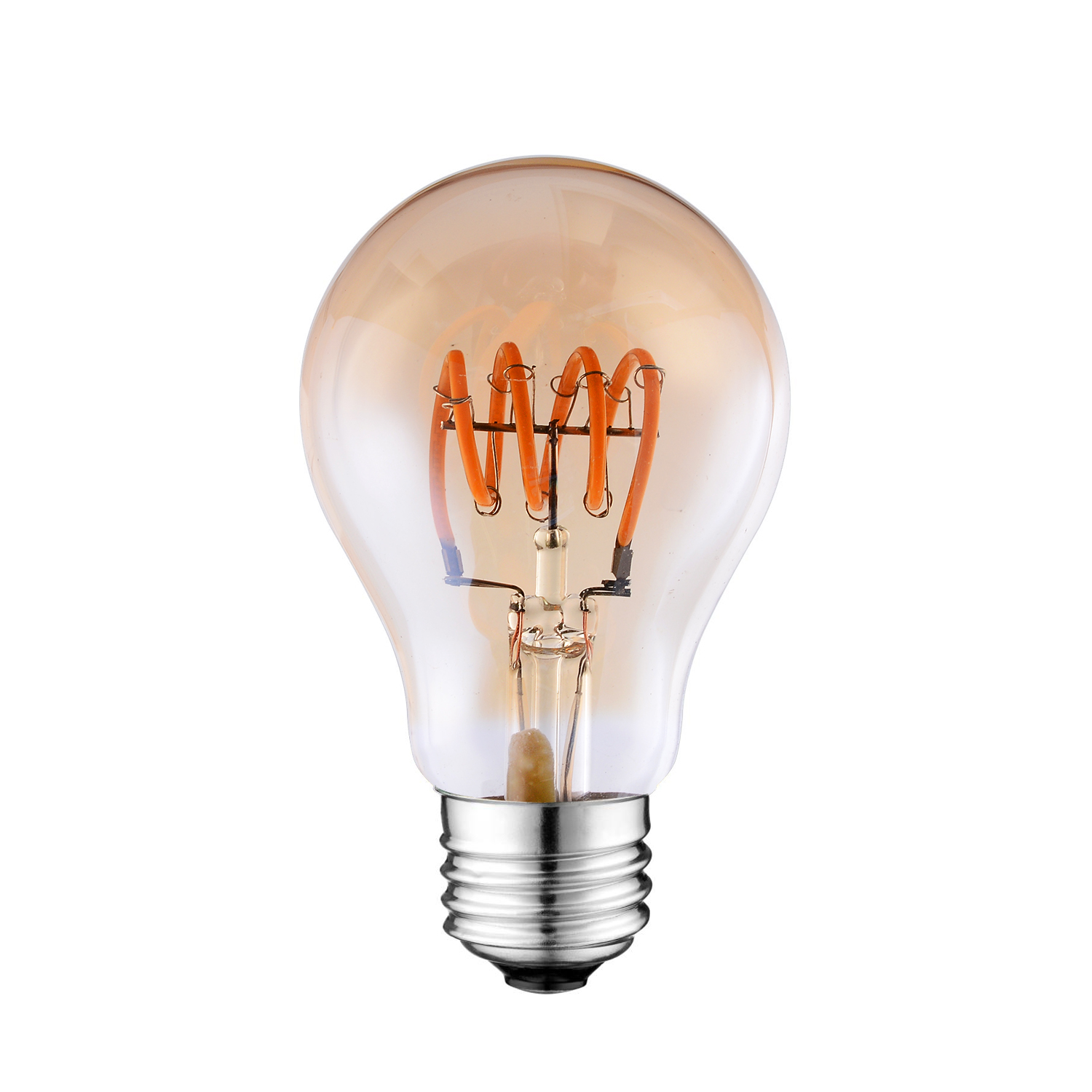 A19 Led Spiral Filament Light Bulb Venusop Led Light Bulbs