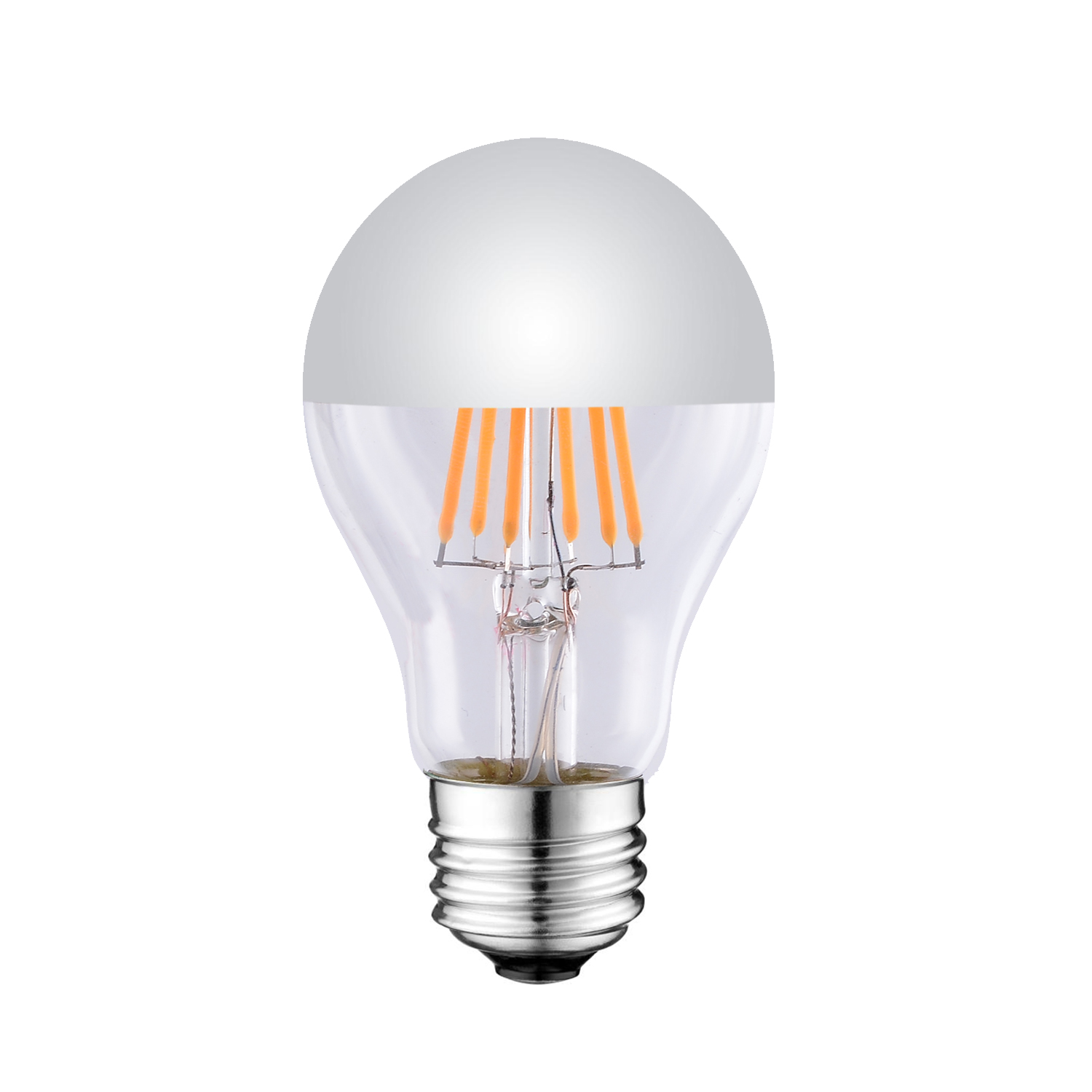 A21 Mirrored LED FILAMENT BULB UL ETL LISTED