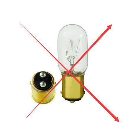 BA15D T7 Tubular LED Picture - Display Exit Light Bulbs