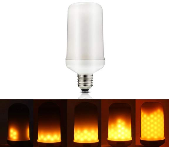 3W 12V Solar LED Flicker Flame Light Bulb