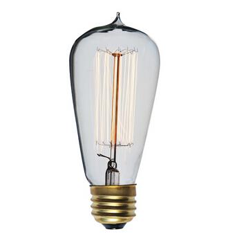 ST64 Edison Bulbs Squirrel Cage Filament