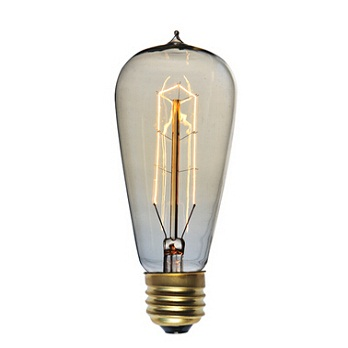 ST58 Vintage light bulbs