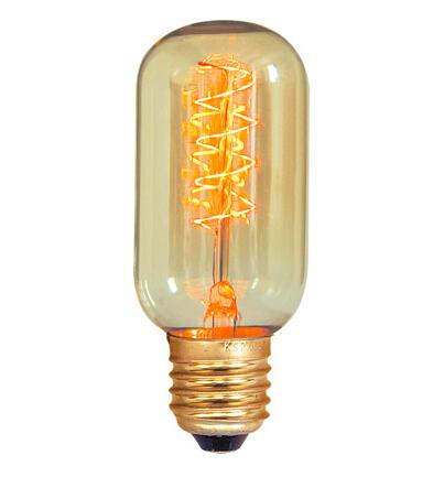 T45 E27 retro light bulbs