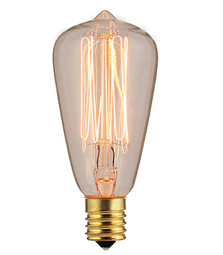 ST38 old fashioned light bulbs