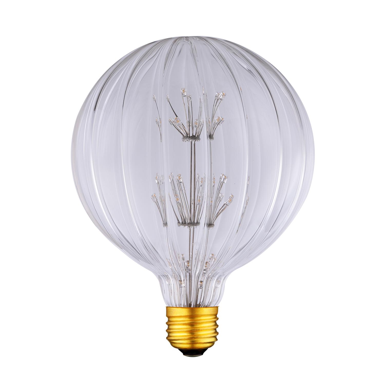 G125 antique pumpkin light bulb