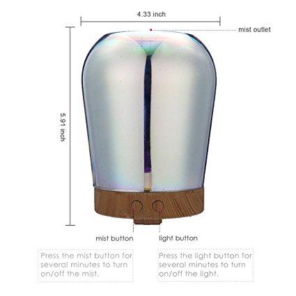 3D LED Ultrasonic Cool Mist Humidifier