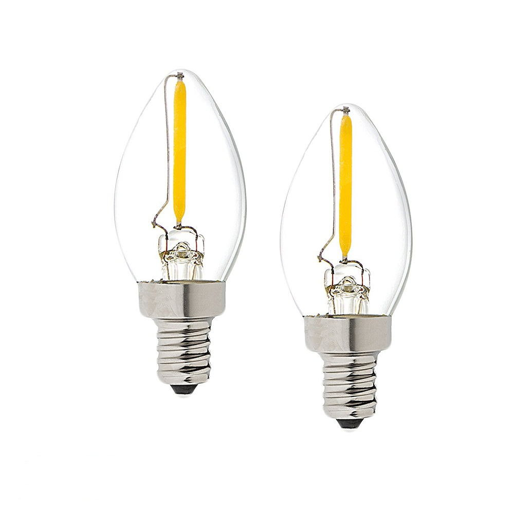 Filament E12 LED C7 Light bulbs