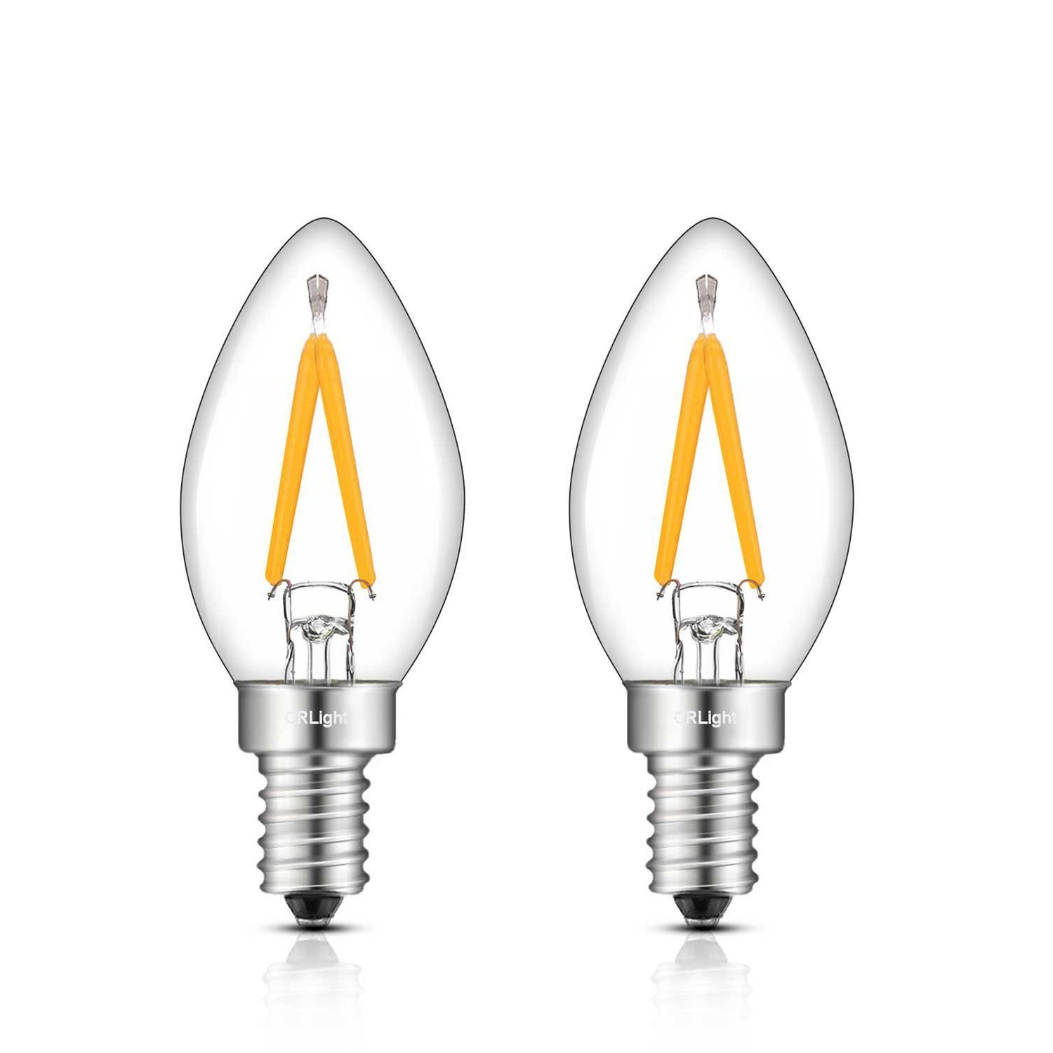 1W C7 LED E12 Dimmable light bulbs
