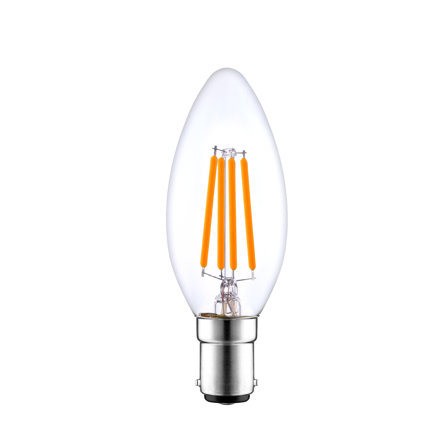 B15 Dimmable LED candle bulb Filament