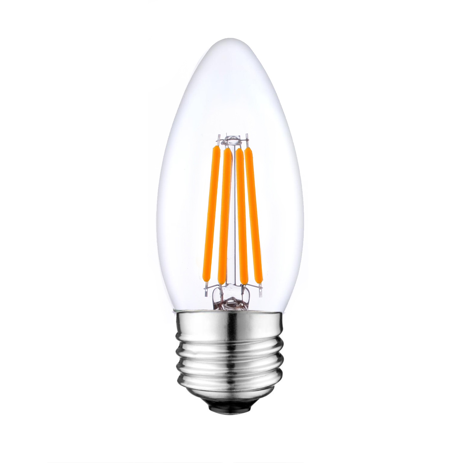 Led filament candle bulb venusop led light bulbs e27 led filament chandelier bulbs arubaitofo Image collections