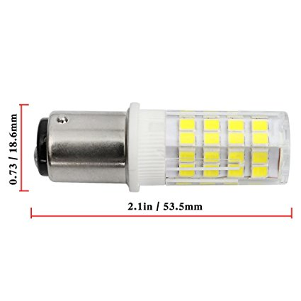 120V 230V BA15D Sewing Machine LED light bulbs