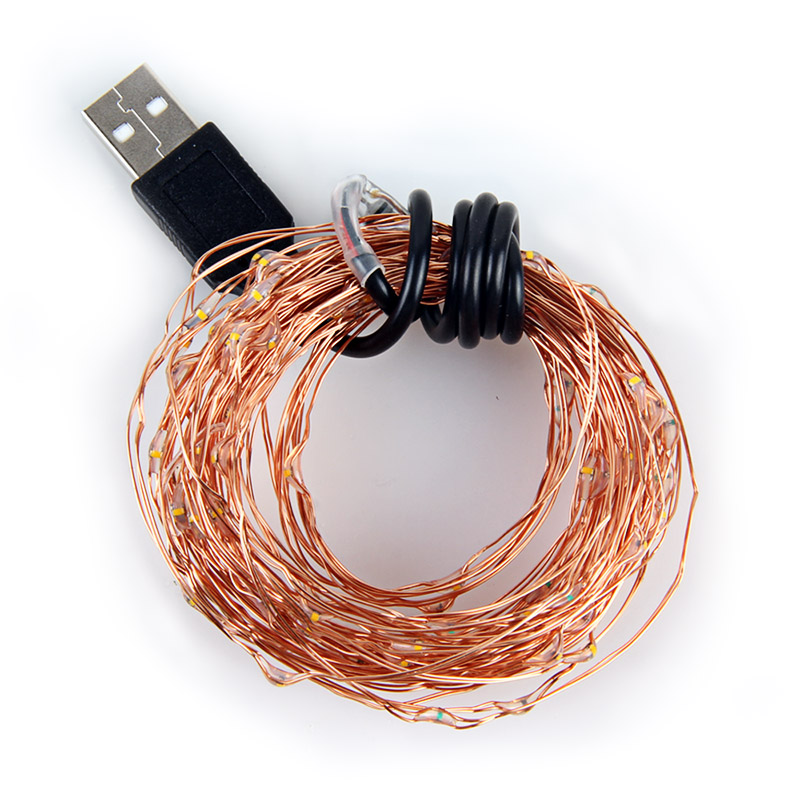 5V Copper Wire USB LED String light