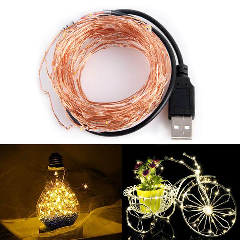 5V Copper Wire USB LED String light