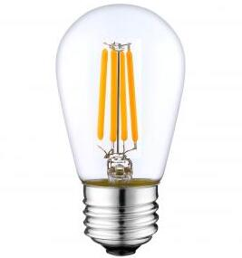 S14 3W LED Filament bulbs Light