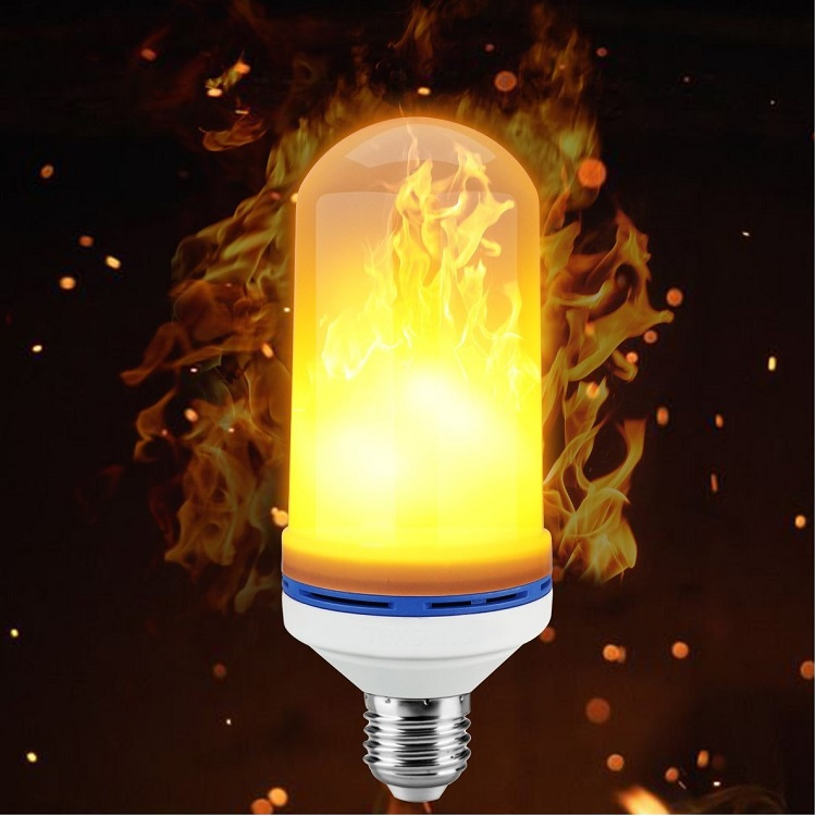 E26 LED Flame Effect Light Bulb