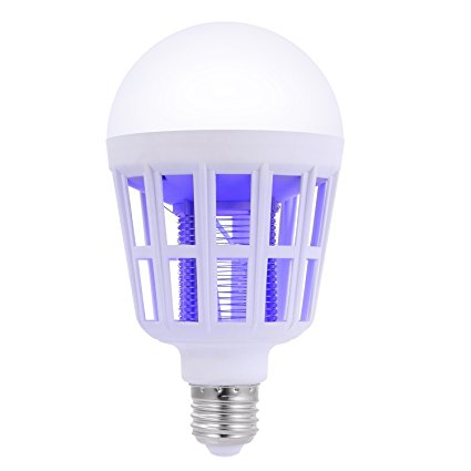 12W Bug Zapper Light Bulb