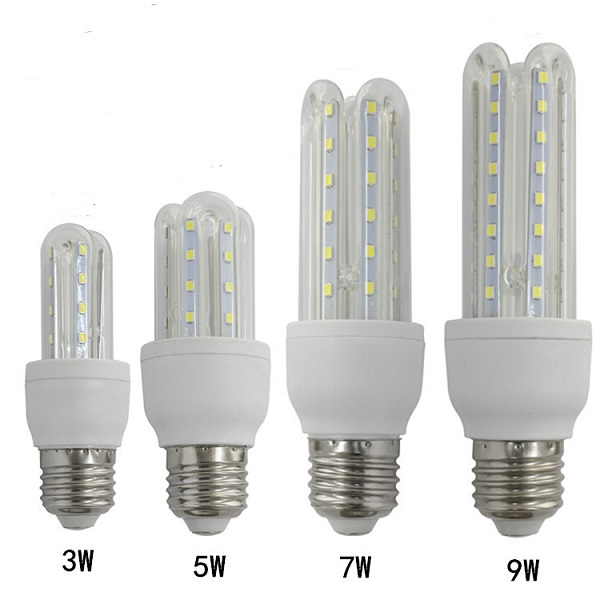 3W LED cfl bulbs - U shape