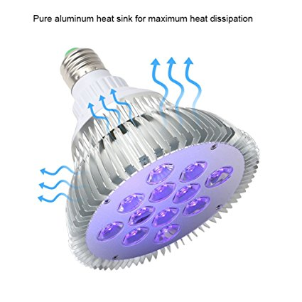 PAR38 15W E27 LED UV Black light bulbs