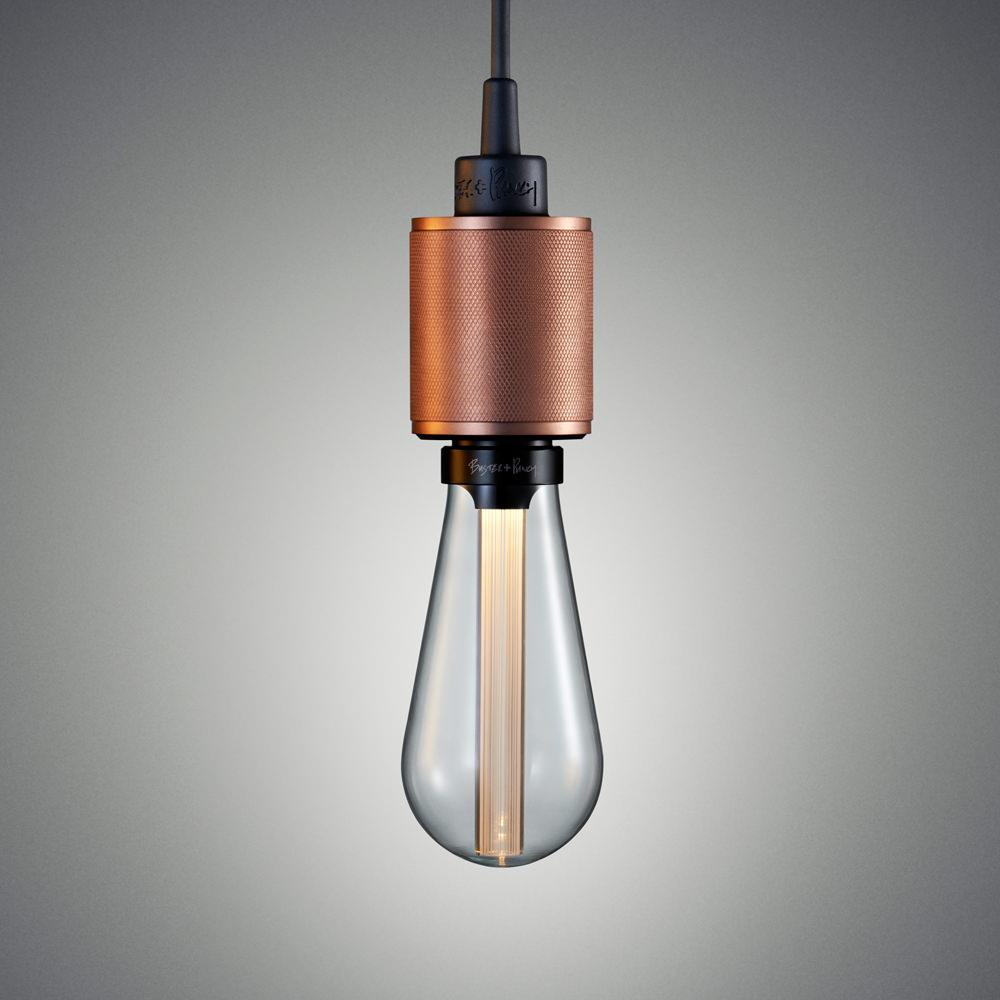 Smoked amber E27 3W LED BUSTER BULB