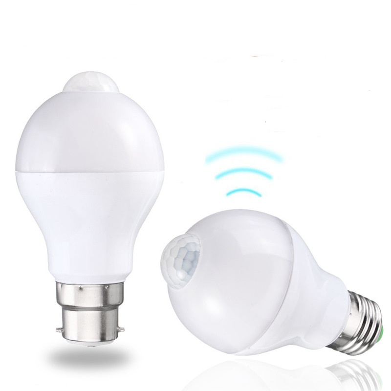 Motion Sensor LED Light Bulb