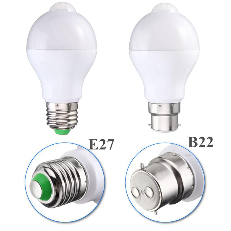 Motion Sensor LED Light Bulb