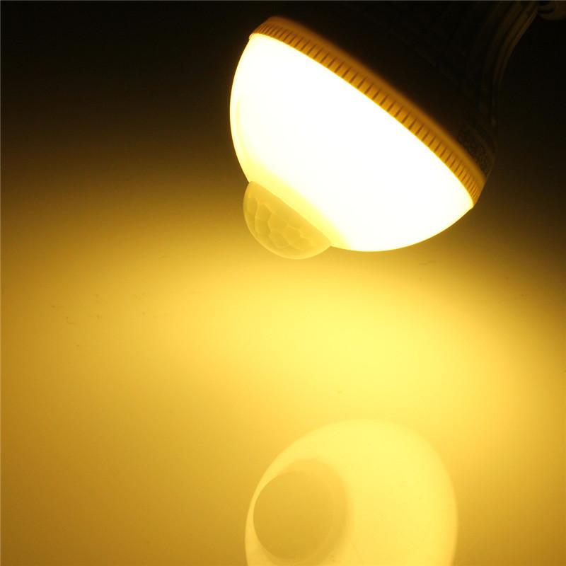 3W PIR Infrared Sensor Light Bulb