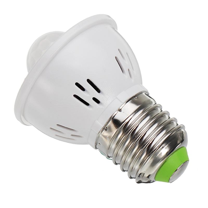JDRE E27 3W Infrared Motion Sensor LED Bulb