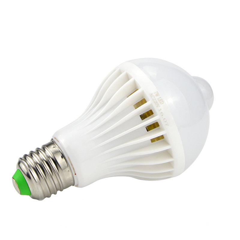 7W Motion Sensor LED Bulb