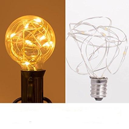 G40 E12 LED copper wire light bulbs