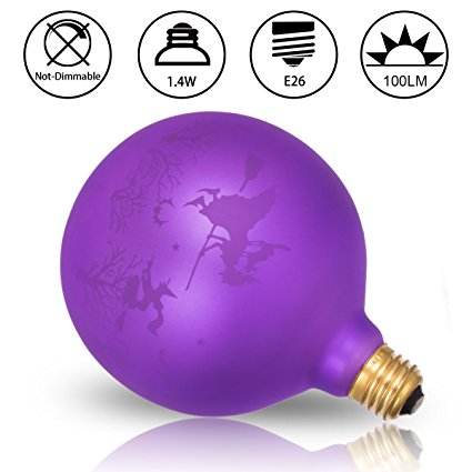 G125 Globe Halloween Decorative Light bulbs