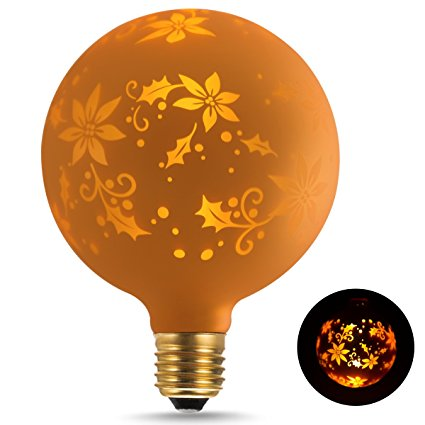 G125 Maple Leaf Globe Decorative Light bulbs