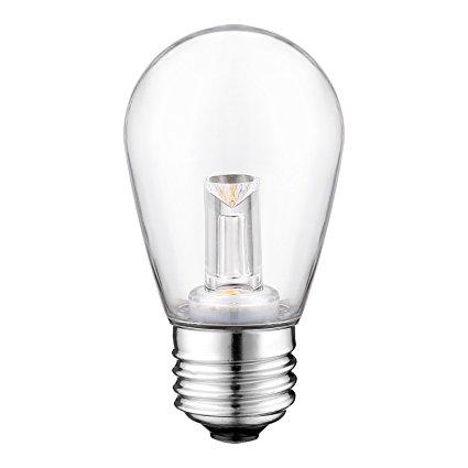 S14 LED ST45 patio string light bulbs