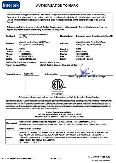 ETL-Listed