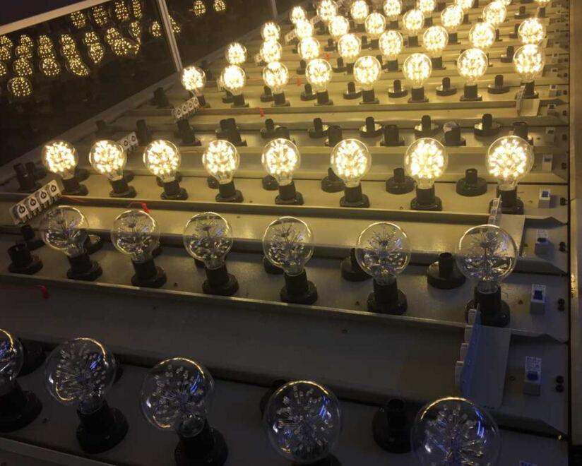 starry led edison bulbs test