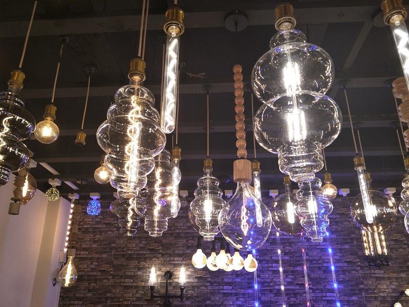giant large globe LED light bulb