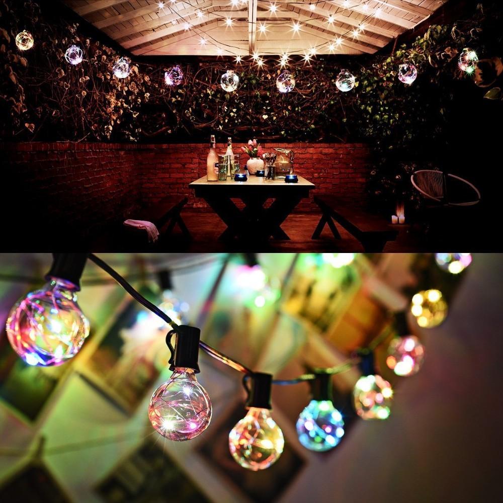 G40 E12 C7 LED String copper light bulbs