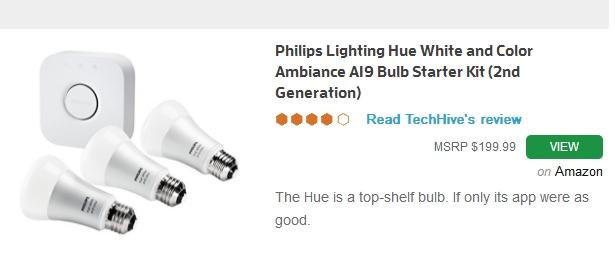 philips color LED smart bulb