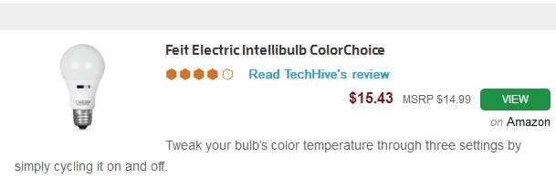 Feit smart LED bulb
